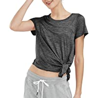 SPECIALMAGIC Women's Sports T-Shirt Basic Yoga Top Short Sleeve Workout Training Shirts Activewear Clothes