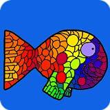 Color Aquarium - Live Adult Coloring Book