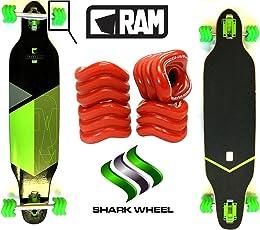Fantic26 Longboard RAM Solitary 2.0 + Sidewinder Shark Wheels