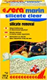 sera silicate clear 500 g - Dauerhafte Silikat-Entfernung dem Nährstoff von Kieselalgen für Süß- und Meerwasser (Filtermaterial in Laborqualität)