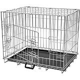 Foldable Metal Dog Cage Small