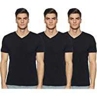 Amazon Brand - Symbol Men's Regular Fit T-Shirt (Pack of 3)