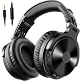 OneOdio Bluetooth Headphones Over Ear [Studio Level Sound Quality ] 80 Hrs Playtime, Bass Boosted, Soft Memory Protein Earmuf