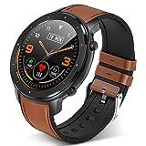 Smartwatch Orologio Fitness Tracker, GerGorb F12 Smart Watch Cardiofrequenzimetro da Polso, TouchSchermo da 1,3 Pollici Imper