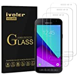 ivoler [3 Unidades] Protector de Pantalla para Samsung Galaxy Xcover 4S / Samsung Galaxy Xcover 4, Cristal Vidrio Templado Pr