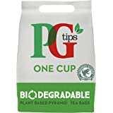 PG tips One Cup Biodegradable Pyramid Everyday Tea Bags Bulk Pack Of 1100 Teabags for Catering, Birthdays, Office Tea Breaks