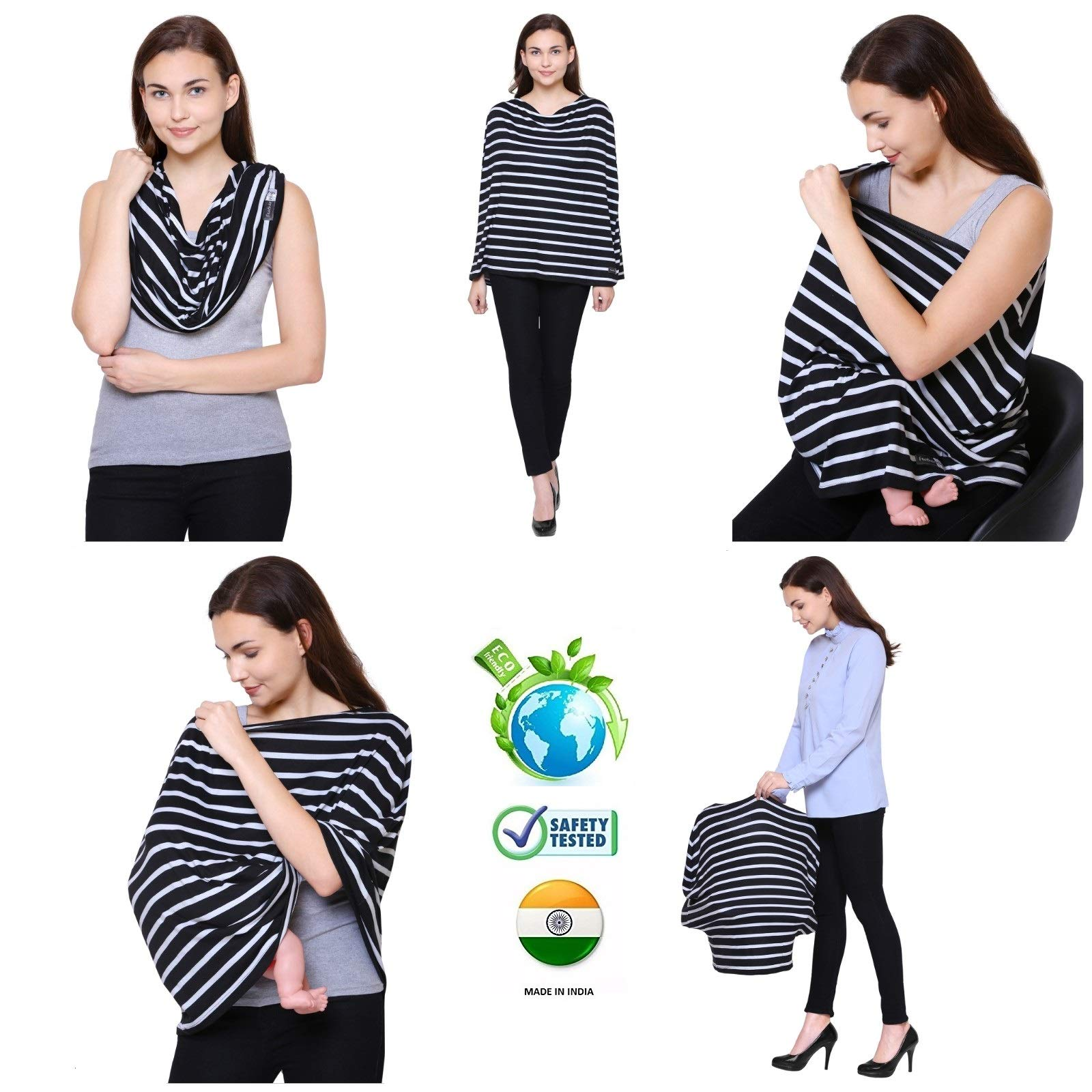 55af1f85afb40 On Sale. Home / Clothing and Accessories / Women / Poncho / Feather Hug 360 Nursing  Cover for Breastfeeding Mother ...