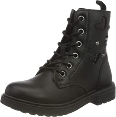 Geox J Eclair Girl G, Ankle Boot Bambina