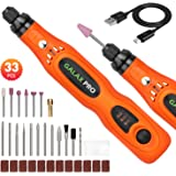 GALAX PRO Strumento Multifunzione Senza Fili,Utensile Rotante Senza Fili con batteria, 3 Velocità Variabile 5000-15000RPM, co