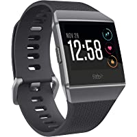 Fitbit Ionic Health & Fitness Smartwatch (GPS) with Heart Rate, Swim Tracking & Music - Black…