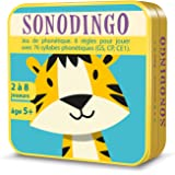 Aritma - SonoDingo - Jeux de cartes, Sons Syllabes, 5 ans