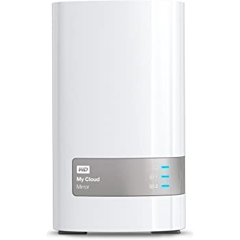 WD My Cloud Mirror 6TB Personal Network Attached Storage (White)