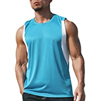 Men's Gym Vest Tank Tops Quick Dry Basketball Sleeveless T Shirts Sport Fitness Muscle Bodybuilding Running Tops
