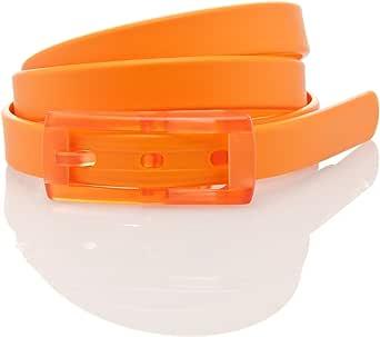 tie-ups Cintura Unisex in Gomma anallergica, ecofriendly,Vegan, Made in Italy Modello Slim Monocolore