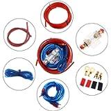 ePathChina Amplifier Installation Kit, Car Audio Wire Wiring Amplifier Subwoofer Installation Kit, Speaker Cables Car…