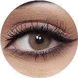 Anesthesia USA L.A. Mocha Unisex Contact Lenses, Anesthesia Cosmetic Contact Lenses, 6 Months Disposable - USA L.A. Mocha (Ch