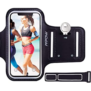 Mpow Running Armband for iPhone 8 7 6s 6, Sweatproof iPhone Armband with Running Earphone and Key Holder and Extension Strap, Suitable for iPhone 8/7/ 6S/ 6 Up To 4.7 Inches