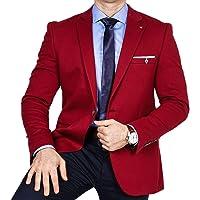 Armina Exclusive Men's Jacket Lightweight Fabric Blazer One Button Jacket Regular Fit Suit Classic