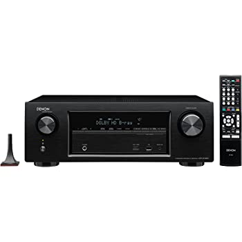 Denon AVR-X1100W 7.2 Surround-AV-Receiver (WLAN, Spotify Connect, Internet-Radio, 5+1 HDMI, DLNA, AirPlay, 145 Watt) schwarz