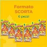 Arbre Magique 105527 Arber Magique, Deodorante per Auto, Fragranza Cocktail Fruit, Confezione da 6 Pezzi