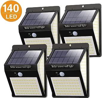 [4 Stück]Solarleuchten für Außen 140 LED,Litogo【2020 New