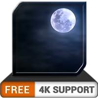 hd nublado luna gratis: ambiente romántico para tu alma gemela en tu televisor HDR 4K, TV 8K y dispositivos de fuego como fondo de pantalla y tema para la mediación y la paz y para las vacaciones de N