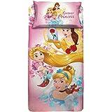 Personaggi Completo Letto Disney Princess Una Piazza Singolo Cotone sopra Federe Originale - Singolo