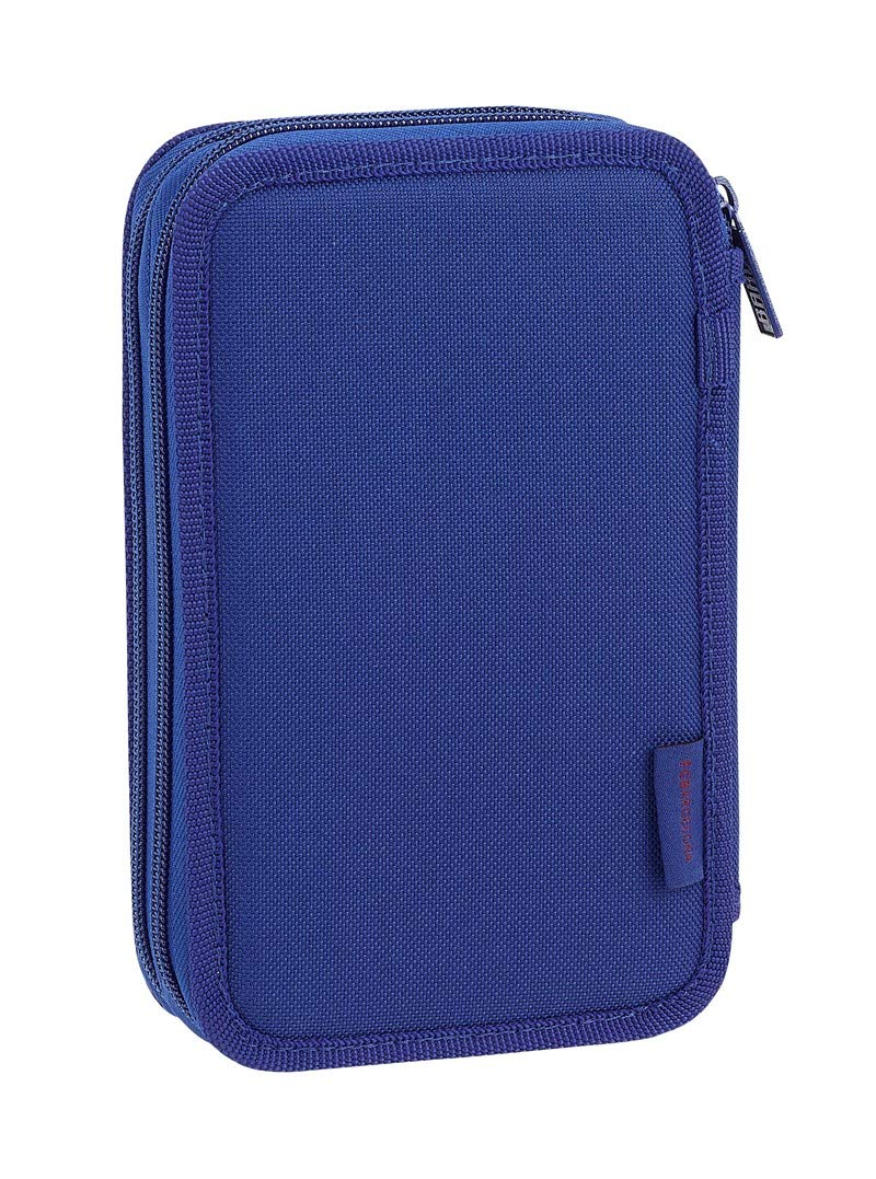 Safta- Estuche Fútbol Club Barcerlona, Color Azul, 20 cm (411826854)