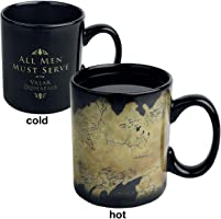 Mug effet thermique Game of Thrones - Carte Westeros