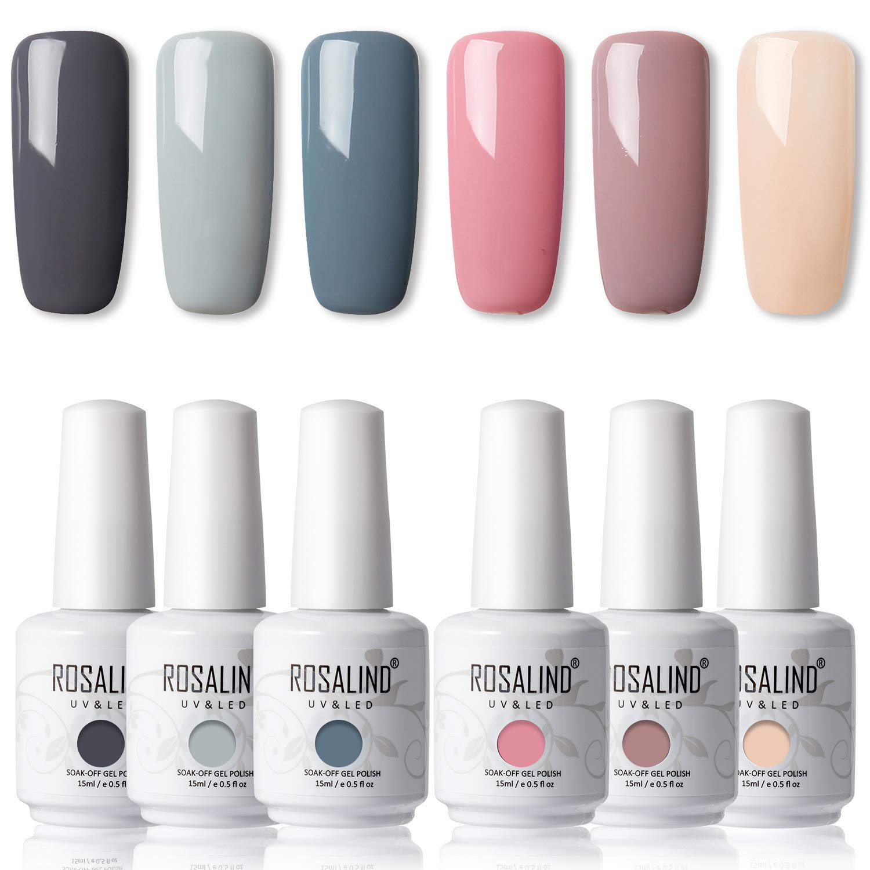 Rosalind – Esmalte semipermanente con purpurina
