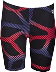 Arena 000141-26 Blend Swimming Jammer (Black/Red)