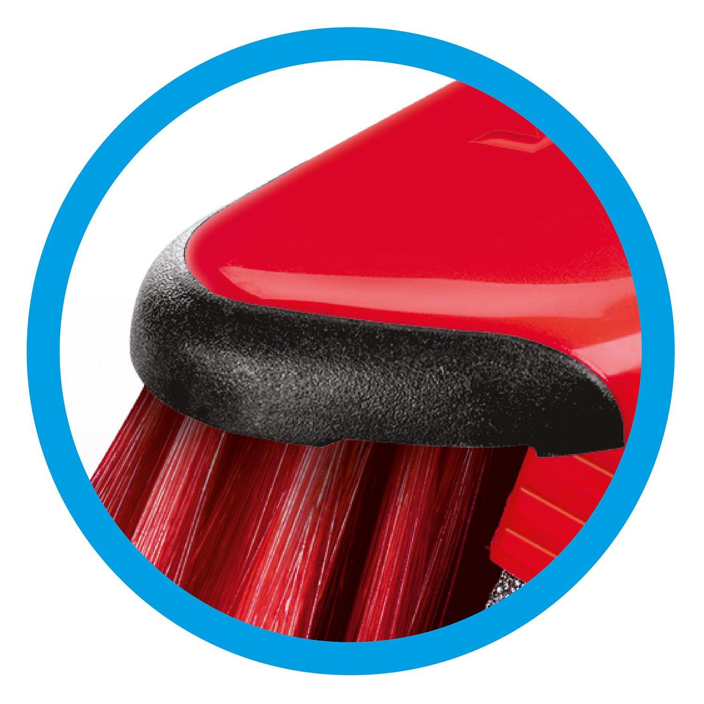 """plastica 8 x 28.5 x 81 cm Vileda quot;DuActiva/"""" scopa antipolvere con manico telescopico Red"""