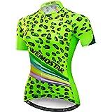 weimostar - Maillot de ciclismo para mujer, perfecto para ciclismo de montaña, de manga corta, ideal para verano
