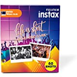 Fujifilm Instax Wide Picture Format Film - Value Pack 60 Shots Films (White)