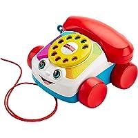 Fisher-Price Mon Téléphone mobile jouet bébé, cadran factice rotatif, pour apprendre les chiffres et les couleurs, 12…