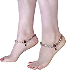 Charms Anklet for Women (Golden)(cr0258eef)