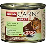 animonda Carny Adult Katzenfutter Mix2, Nassfutter für erwachsene Katzen