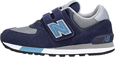 New Balance 574 Sneaker Blu da Bambino YV574FND