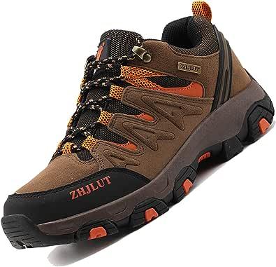 Unitysow Scarpe da Trekking Uomo Donna Arrampicata Sportive All'aperto Scarpe da Escursionismo Sneakers Unisex Impermeabili Traspiranti Passeggiate Stivali 35-47