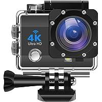 Mabron Drumstone [*2 in 1 Camera - Normal+Sports use] Wi-Fi Waterproof Sports 4K Camera - Ultra HD [1 Year Warranty]
