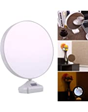 Karp 2-in-1 Mirror Photo Frame with LED Light (Assorted Colour, 15cm)