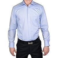 MARVELiS - Chemise moderne coupe slim 4704-69-11 h.bleu manches extra longues