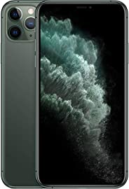 Apple MWF42ZA/A iPhone 11 Pro Max Dual SIM with FaceTime - 256GB, 4G LTE, Midnight Green