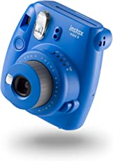 Fuji Instax Mini 9 Camera with 10 Shots-Cobalt Blue