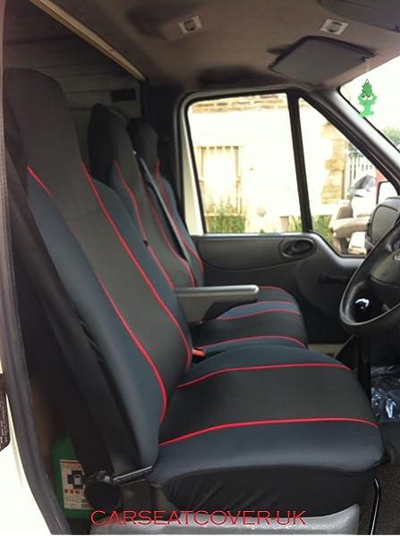 MERCEDES SPRINTER 2014 DELUXE BLACK /& GREY VAN SEAT COVERS 2+1