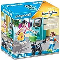 Playmobil Vacanciers et Distributeur Automatique Multicolore 70439 de 4 Ans