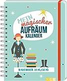 Mein magischer Aufräumkalender 2019: Mit 140 Stickern