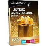Wonderbox - Coffret cadeau anniversaire - JOYEUX ANNIVERSAIRE EMOTION - Valable 3 ans et 3 mois