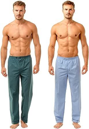 Haigman Mens Pyjama Bottoms Twin Pack | Medium, Large, XLarge, XXLarge