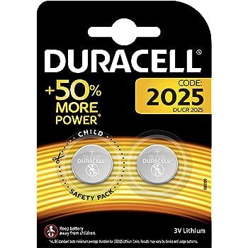 Duracell Batterie al Litio Specialistiche a Bottone, Stilo 2025, Confezione da 2